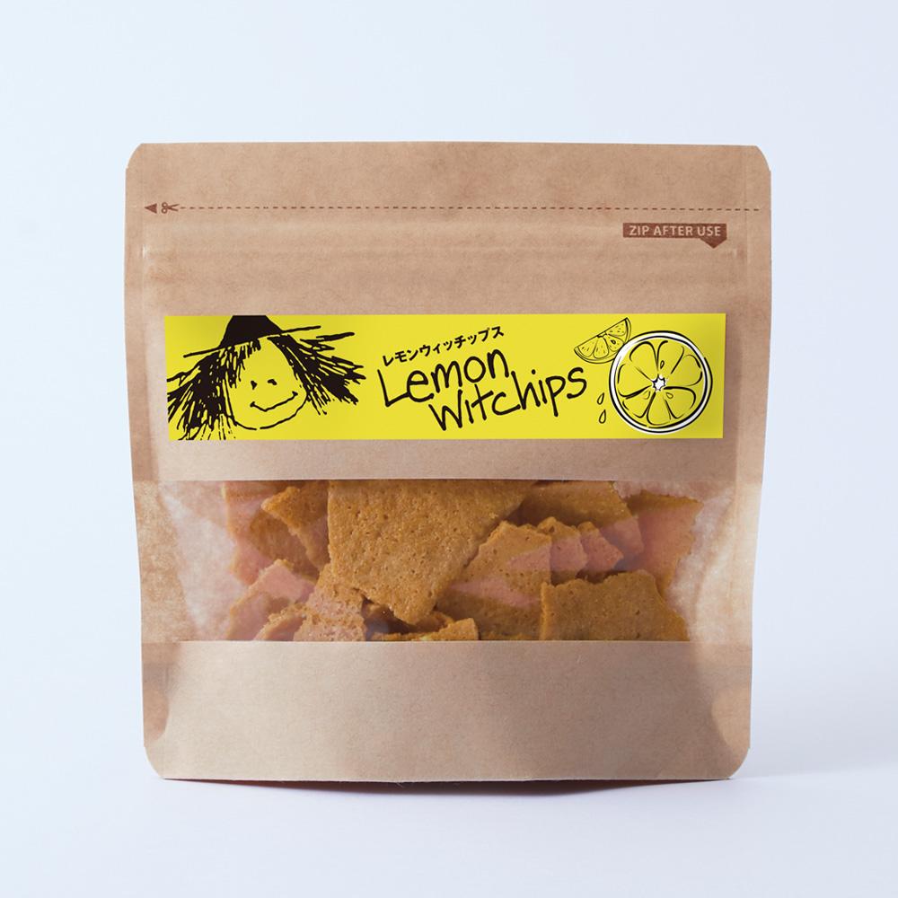 人気のウィッチップスにレモンフレーバーが登場!爽やかな甘酸っぱさがクセになる「レモンウィッチップス」